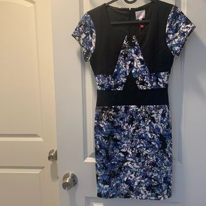 Parker NEW floral structure dress cute pattern XS